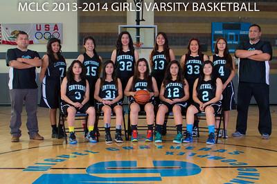 2013-2014 Girls Basketball Team Photos