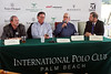 IMG_6939 Tony Coppola, Polo Commentor_Bob Jarnayvaz, American Polo Player_Jimmy Newman, Director of Polo Operations_John Wash, President of International Polo Club Operations