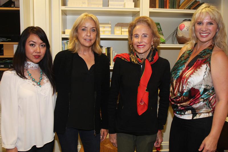 IMG_7211 Cherie Phan and Terry Bankey and Miriam B  Schallman and Katherine Meyer