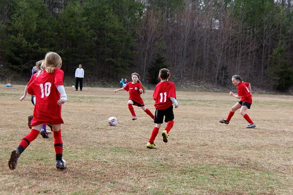 2014-03-22 - Red Ninjas Soccer Game