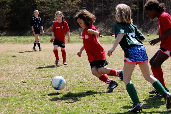 2014-04-12 - Red Ninjas Soccer Game