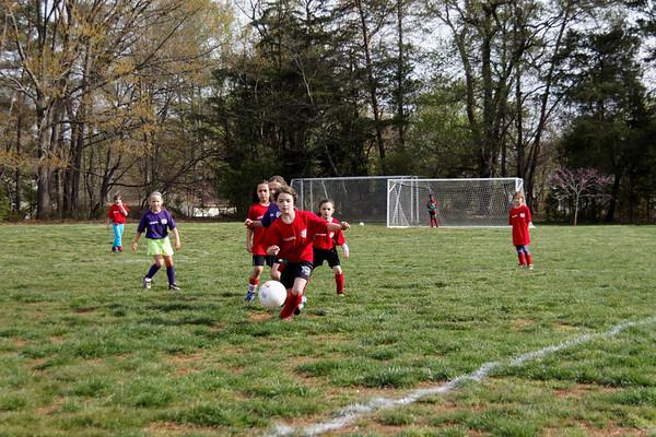 2014-04-19 - Red Ninjas Soccer Game