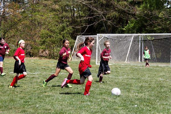 2014-04-26 - Red Ninjas Soccer Game
