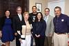 IMG_7379 Laura Gottlieb, Gary Weiner, Doris Gidding, Dr  Amir Amedi, Rabbi Marci Bloch, Rabbi Robert Silvers & Clive Kabatznik
