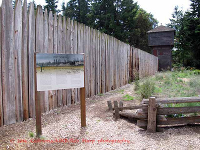 Fort Nisqually was the first European settlement on Puget Sound.  It was established in 1833 by the Hudson's Bay Company (HBC) of London, England.