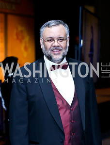 South African Amb. Ebrahim Rasool. Photo by Tony Powell. Africare Bishop John T. Walker Memorial Dinner. Hilton Hotel. April 5, 2014