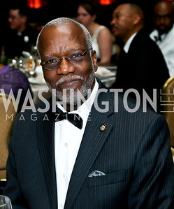 Dominica Amb. Hubert Charles. Photo by Tony Powell. Africare Bishop John T. Walker Memorial Dinner. Hilton Hotel. April 5, 2014