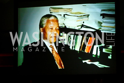 Nelson Mandela Tribute. Photo by Tony Powell. Africare Bishop John T. Walker Memorial Dinner. Hilton Hotel. April 5, 2014