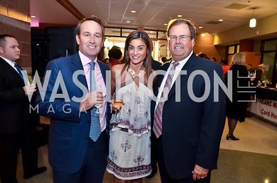 Chris and Karen Donatelli, Chris Smith. Photo © Tony Powell. 2014 After Dark @ THEARC. September 14, 2014
