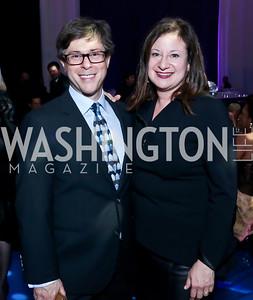 Joel Friedman, Jennie Bilfield. Photo by Tony Powell. 2014 After Dark @ THEARC. September 13, 2014