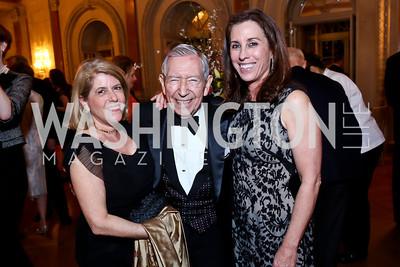 Susan Scott, Leonard Silverstein, Karen Taylor. Photo by Tony Powell. 2014 Alliance Francaise AFEI Gala. Anderson House. April 10, 2014