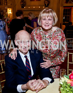 Malcolm and Pam Peabody. Photo by Tony Powell. 2014 Alliance Francaise AFEI Gala. Anderson House. April 10, 2014