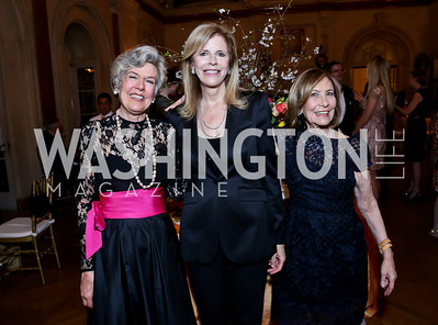Camilla McCaslin, Jane Cafritz, Susan Rappaport. Photo by Tony Powell. 2014 Alliance Francaise AFEI Gala. Anderson House. April 10, 2014