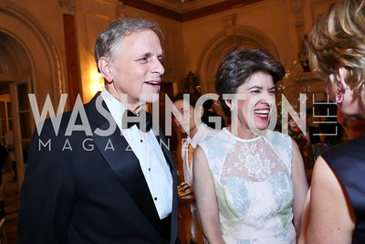 John and Susan Klein. Photo by Tony Powell. 2014 Alliance Francaise AFEI Gala. Anderson House. April 10, 2014