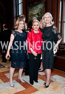Susan Rappaport, Vibeke Lofft, Willee Lewis. Photo by Tony Powell. 2014 Alliance Francaise AFEI Gala. Anderson House. April 10, 2014