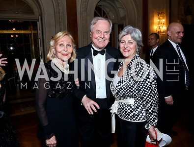 Evelyn DiBona, Rep. Bart Gordon, Martha Ann Alito. Photo by Tony Powell. 2014 Alliance Francaise AFEI Gala. Anderson House. April 10, 2014