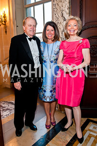 Dean and Bobby Smith, Joan Carl. Photo by Tony Powell. 2014 Alliance Francaise AFEI Gala. Anderson House. April 10, 2014