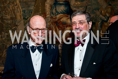Finlay Lewis, Bernard Carl. Photo by Tony Powell. 2014 Alliance Francaise AFEI Gala. Anderson House. April 10, 2014