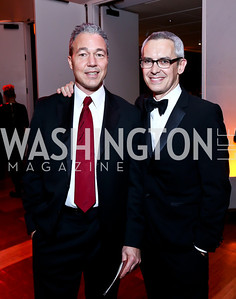 AAADT Director of Public Relations Christopher Zunner, AAADT Executive Director Bennett Rink. Photo by Tony Powell. 2014 Alvin Ailey Gala. Kennedy Center. February 4, 2014