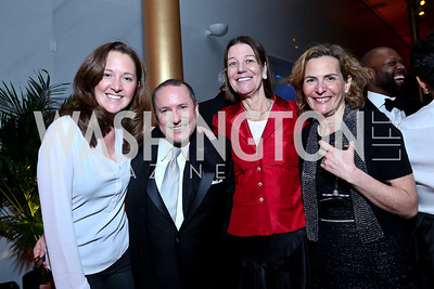 Liz Sizer, Daren Thomas, Tamera Luzzatto, Laurie Rubiner. Photo by Tony Powell. 2014 Alvin Ailey Gala. Kennedy Center. February 4, 2014
