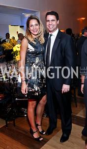 Ellen Chube, Bill Burton. Photo by Tony Powell. 2014 Alvin Ailey Gala. Kennedy Center. February 4, 2014