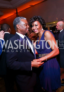 Art and Sela Collins. Photo by Tony Powell. 2014 Alvin Ailey Gala. Kennedy Center. February 4, 2014