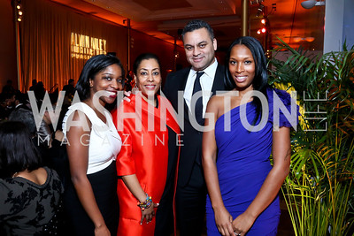 Heather Foster, Joyce Brayboy, Jonathan McBride, Maria Lloyd. Photo by Tony Powell. 2014 Alvin Ailey Gala. Kennedy Center. February 4, 2014