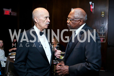 Former Judge Paul Webber, Rep. James Clyburn. Photo by Tony Powell. 2014 Alvin Ailey Gala. Kennedy Center. February 4, 2014
