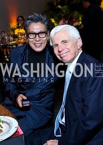 AAADT Associate Artistic Director Masazumi Chaya, Ray Benton. Photo by Tony Powell. 2014 Alvin Ailey Gala. Kennedy Center. February 4, 2014