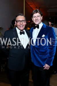 Felix Sanchez, Lyndon Boozer. Photo by Tony Powell. 2014 Alvin Ailey Gala. Kennedy Center. February 4, 2014