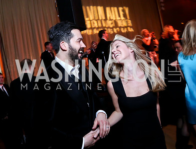 James and Ashley Patterson. Photo by Tony Powell. 2014 Alvin Ailey Gala. Kennedy Center. February 4, 2014