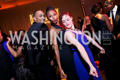 AAADT Dancers Sean Carmon, Jacqueline Green, Megan Jakel. Photo by Tony Powell. 2014 Alvin Ailey Gala. Kennedy Center. February 4, 2014