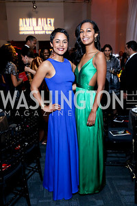 Allison and Julia Haywood. Photo by Tony Powell. 2014 Alvin Ailey Gala. Kennedy Center. February 4, 2014