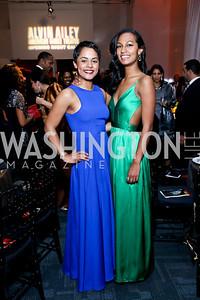 Allison and Julia Haywood. Photo by Tony Powell. 2014 Alvin Ailey Gala. Kennedy Center. February 4, 2014