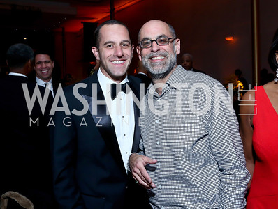 Dave Grimaldi, Robert Raben. Photo by Tony Powell. 2014 Alvin Ailey Gala. Kennedy Center. February 4, 2014