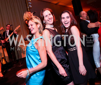 Katharine Weymouth, Liddy Manson, Katharine Boasberg. Photo by Tony Powell. 2014 Alvin Ailey Gala. Kennedy Center. February 4, 2014