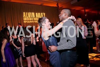 AAADT Dancers Elisa Clark, Jeroboam Bozeman. Photo by Tony Powell. 2014 Alvin Ailey Gala. Kennedy Center. February 4, 2014