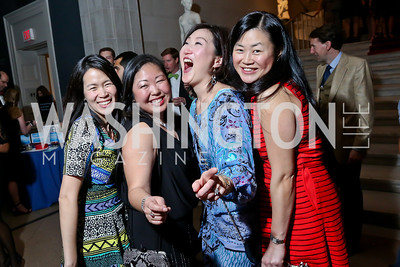 Susan Go, Ellen Lengermann, Jennifer Kwon, Mimi Tom. Photo by Tony Powell. Artini. Corocoran Gallery of Art. March 22, 2014