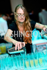 Mixologist Dani Paulson. Photo by Tony Powell. Artini. Corocoran Gallery of Art. March 22, 2014