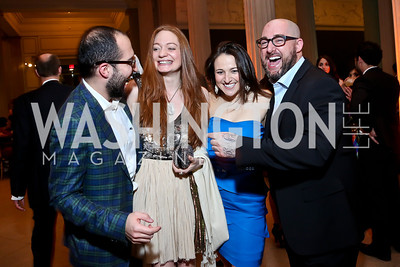 Omer Er, Catherine Pitcher, Jen Mellon, Danny Boice. Photo by Tony Powell. Artini. Corocoran Gallery of Art. March 22, 2014