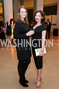 Kaitlin Booher, Rachel Cothran. Photo by Tony Powell. Artini. Corocoran Gallery of Art. March 22, 2014