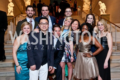 2014 Artini Host Committe and Chairs. Photo by Tony Powell. Artini. Corocoran Gallery of Art. March 22, 2014