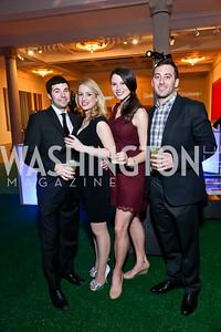 JR Barnes, Jessica Itzel, Ashleigh Payne, Alex Middel. Photo by Tony Powell. Artini. Corocoran Gallery of Art. March 22, 2014