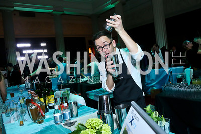 Mixologist Joshua Durr. Photo by Tony Powell. Artini. Corocoran Gallery of Art. March 22, 2014