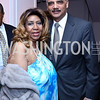 Musical Arts Award Honoree Aretha Franklin, Attorney General Eric Holder. Photo by Tony Powell. 2014 BET Honors Dinner. Museum for Women in the Arts. February 7, 2014