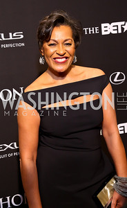Visual Arts Award Honoree Carrie Mae Weems. Photo by Tony Powell. 2014 BET Honors Red Carpet. Warner Theater. February 8, 2014