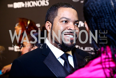 Entertainment Award Honoree Ice Cube. Photo by Tony Powell. 2014 BET Honors Red Carpet. Warner Theater. February 8, 2014