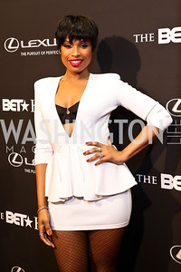 Performer Jennifer Hudson. Photo by Tony Powell. 2014 BET Honors Red Carpet. Warner Theater. February 8, 2014