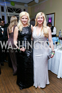 Krista Johnson, Josie Taylor. Photo by Tony Powell. 2014 Bachelors and Spinsters Ball. City Tavern Club. April 11. 2014