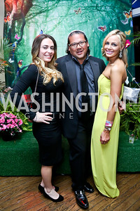Jillann Mode, Ray Regan, Jeanne Shewmaker. Photo by Tony Powell. 2014 Bachelors and Spinsters Ball. City Tavern Club. April 11. 2014